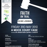 Faith on Trial: Relevant or Redundant?