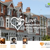 Love Muhammed (pbuh), love thy neighbour