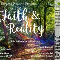 Summer Residential 2017 - Faith to Reality